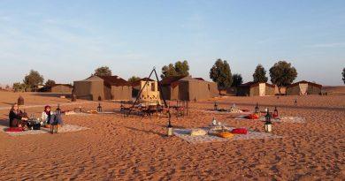 Sahara Desert Camping Luxury Camp, campeggio standard Merzouga, Marocco