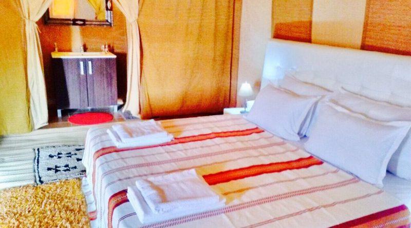 Campamento de lujo del camping Sahara Desert, camping estándar Merzouga, Marruecos