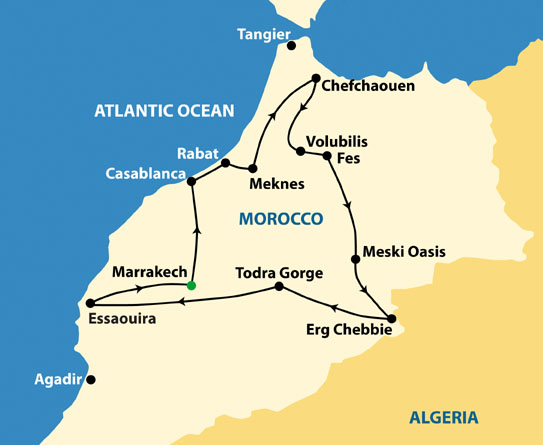 Discover the best tours in Morocco including Morocco Kasbahs & Desert, Highlights of Morocco, Morocco: Sahara & Beyond.